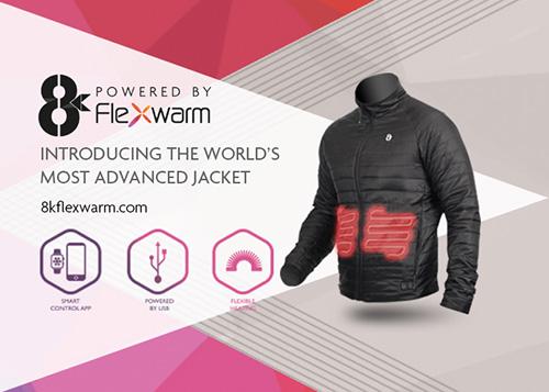 ... οποίο η εταιρεία δηλώνει ότι καταναλώνει 50% λιγότερη ενέργεια από τα  ανθρακονήματα που χρησιμοποιούνται συνήθως στα θερμαινόμενα ρούχα και  αξεσουάρ . 8ed2784410a