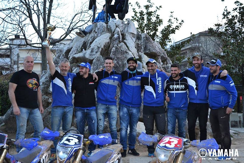 yamaha enduro worksbike team 2018 17