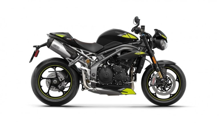 B speed triple rs my20matt jet black new deca rhsl 97813