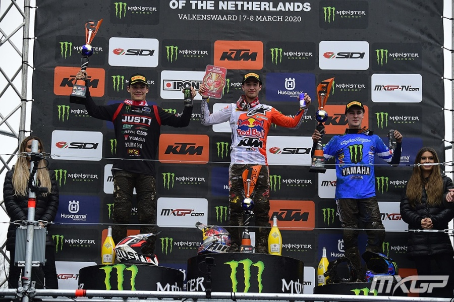 MX2 PODIUM MOTOCROSS GP 2 NL 2020