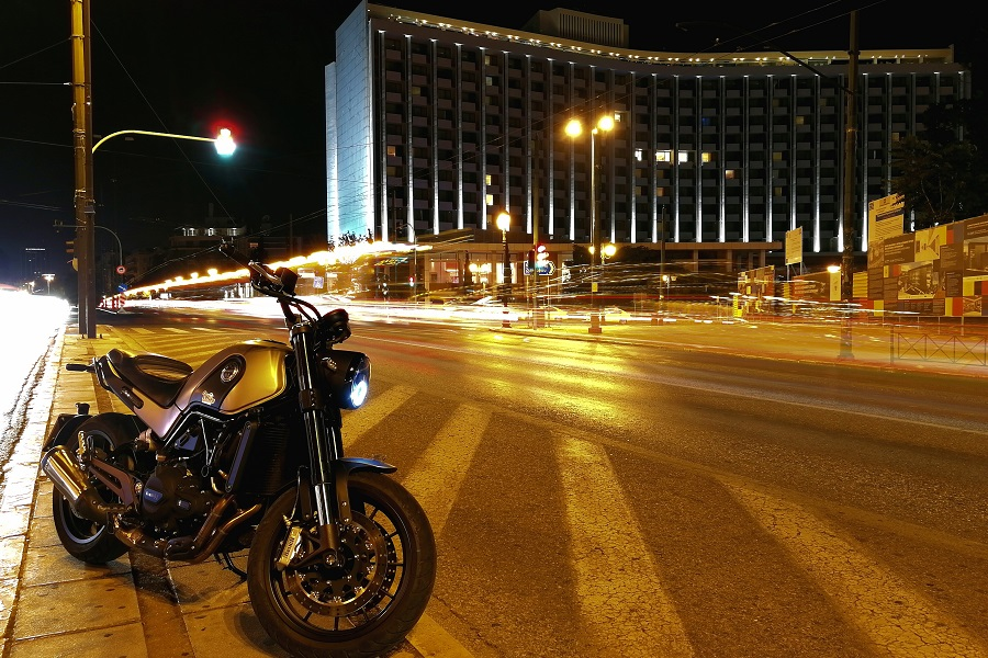 test benelli leoncino ambience 8