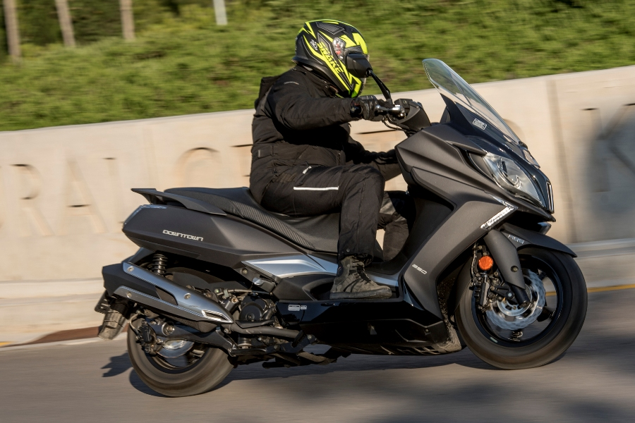 kymco downtown 350i abs noodoe action 4