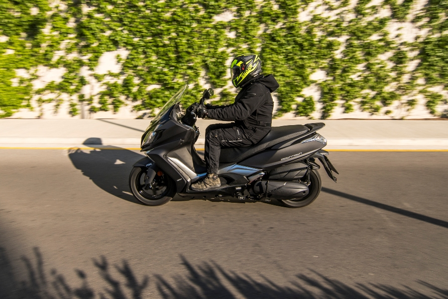 kymco downtown 350i abs noodoe action 5