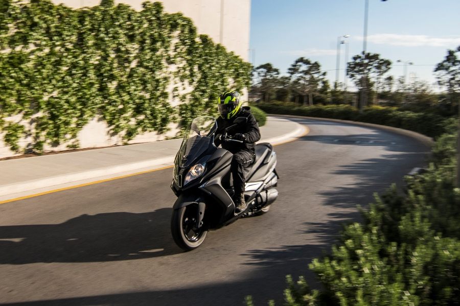 kymco downtown 350i abs noodoe action 6