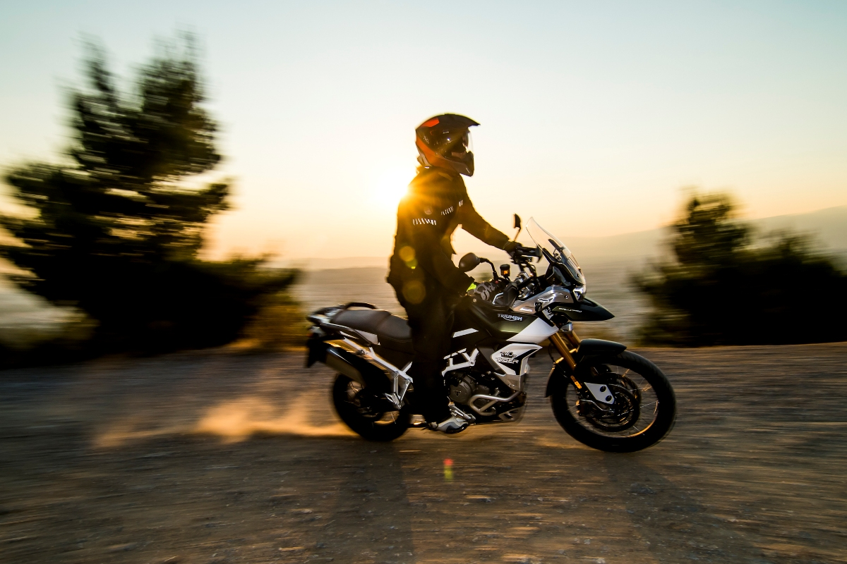 Triumph Tiger 900 Rally Pro action 15